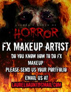 Laurel's House of Horror and Escape Room - FX Makeup Artists