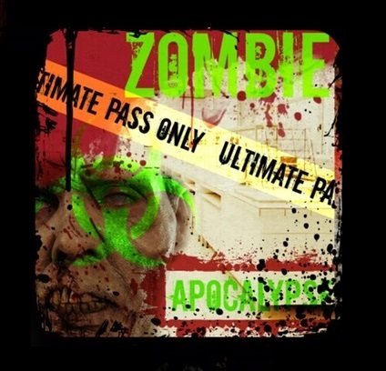 "Laurel's House of Horror and Escape Room - ""Zombie Apocalpse"" - Ultimate Pass"