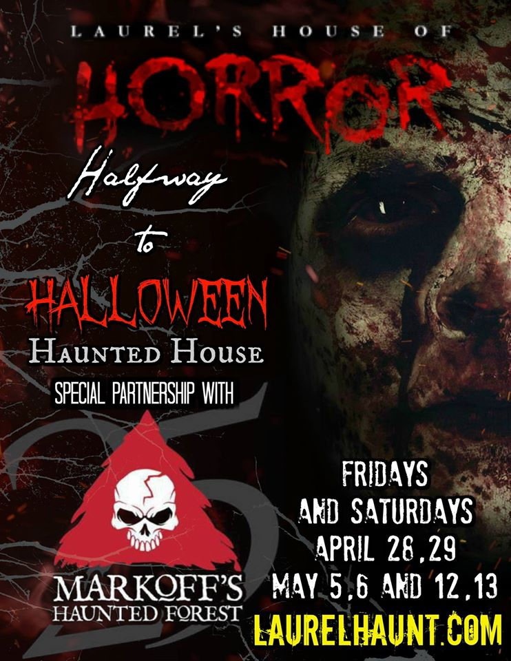 Laurels House of Horror and Escape Room - Halfway to Halloween